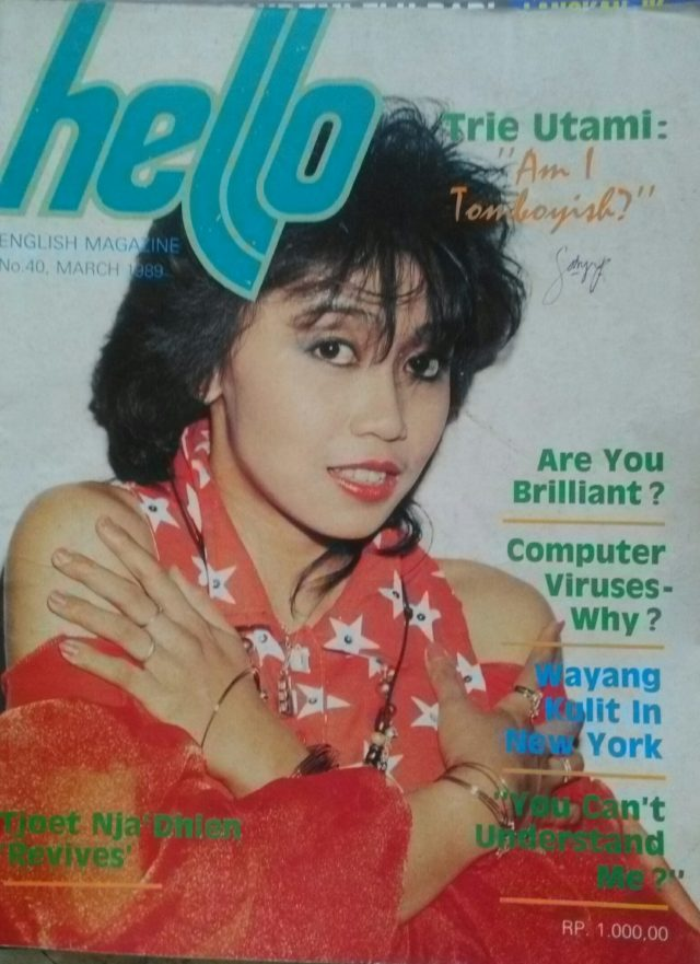 trie utami in the cover